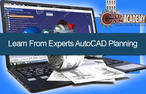 AutoCAD planning for project management