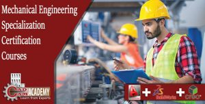 AutoCAD,CATIA,CREO courses for Mechanical Engineering