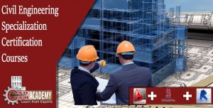 AutoCAD,Stadd Pro,Revit Structure courses for Civil Engineering