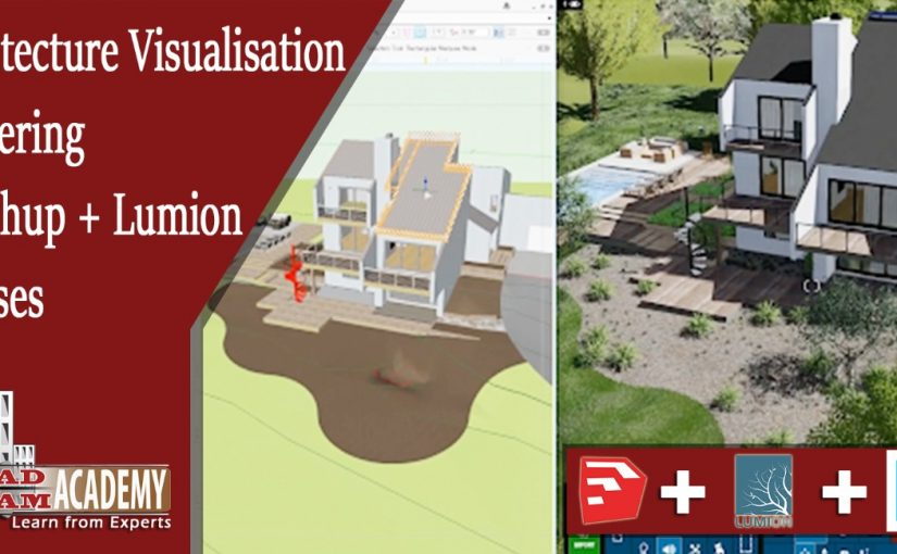Sketchup vray+Lumion [Architecture]